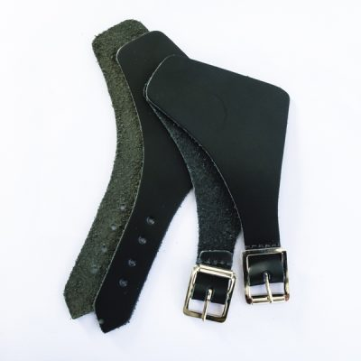 Footstraps – Officers with nickel buckles