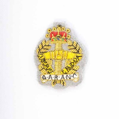 QARANC – Embroidered Beret Badge
