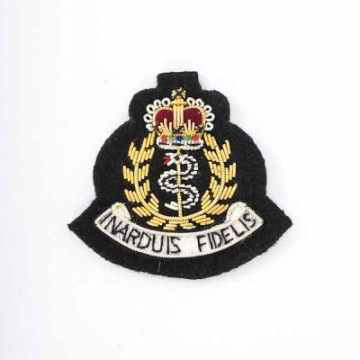 RAMC – Embroidered Beret Badge