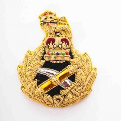 General Staff Officer – Embroidered Cap Badge