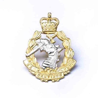 RADC – Metal Cap Badge