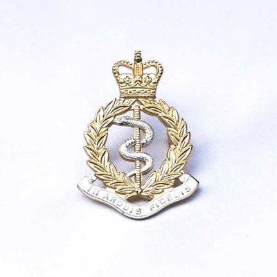 RAMC – Metal Cap Badge