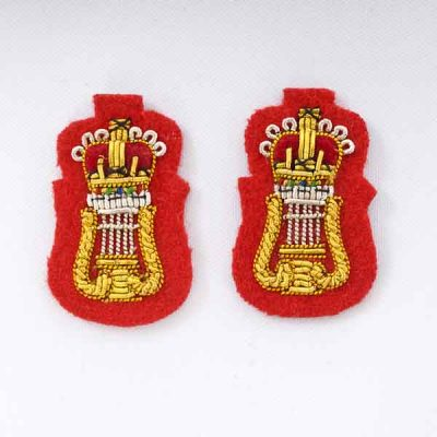 CAMus – Collar Badges (Embroidered) for Mess Dress
