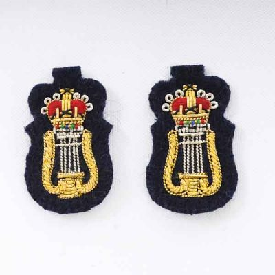 CAMus – Collar Badges (Embroidered) for No1 Dress
