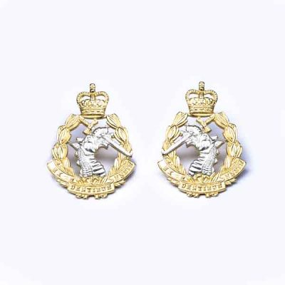 RADC – Metal Collar Badges