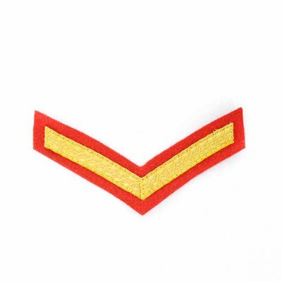 LCpl Chevron – Mess Dress