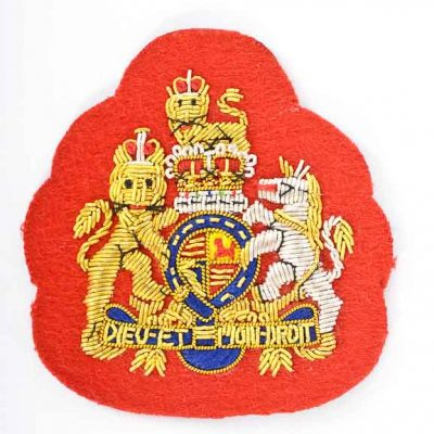 Royal Coat of Arms – WO1 Mess Dress