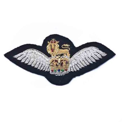 AAC Officer Pilot Wings (Embroidered)  for No1 Dress