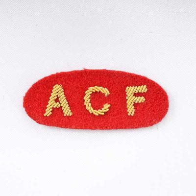 Army Cadet Force Badge (Embroidered) for Mess Dress