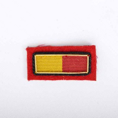 Minden Flash Embroidered Badge for Mess Dress