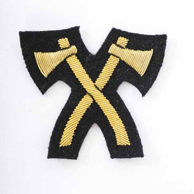 Crossed Axes for Mess Dress