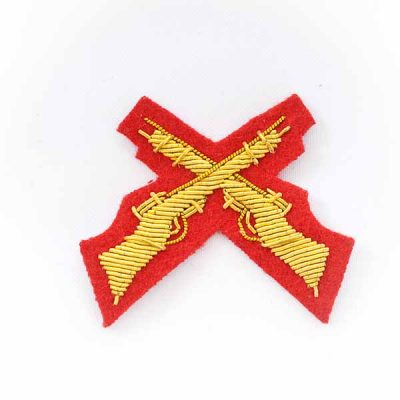 Crossed Rifles  (SAA) for Mess Dress