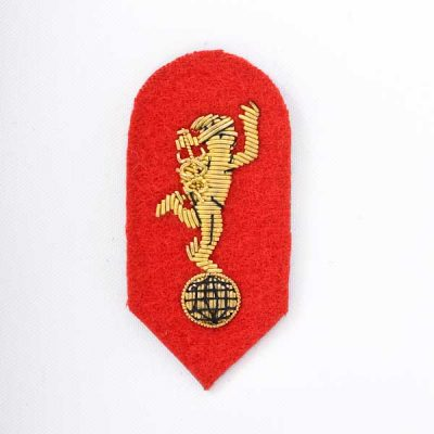 Royal Signals Sgts Mess Dress Badge (Embroidered )
