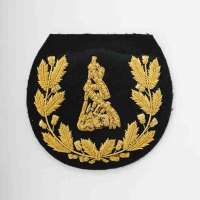Pipe Major Badge