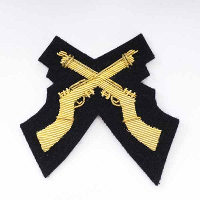 Crossed Rifles (SAA) for No.1 Dress
