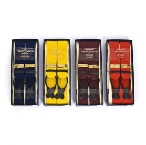 Melton box cloth braces