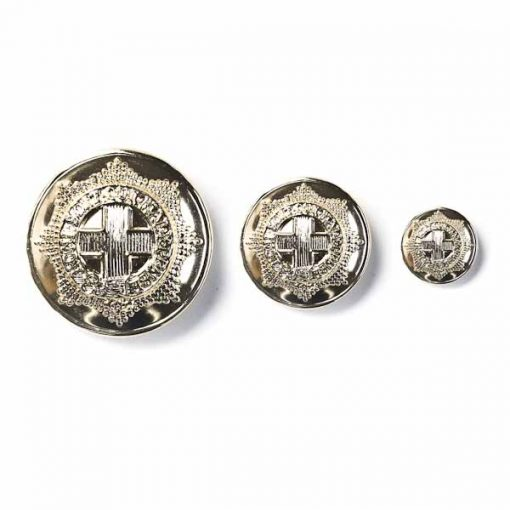 Regimental Anodised Buttons