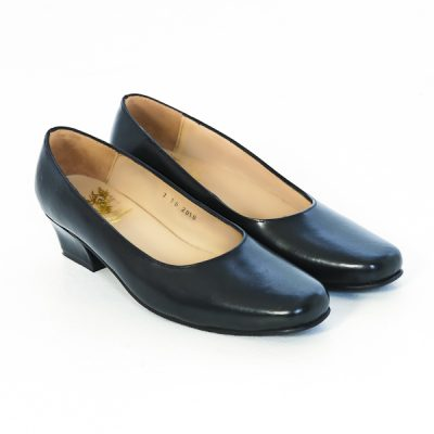 Court Shoes  – Black