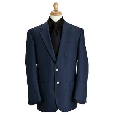 Single Breasted Navy Blazer