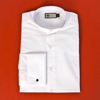 Male Collarless Marcella Dress Shirt