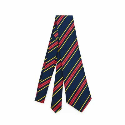 RLC Regimental Silk Tie