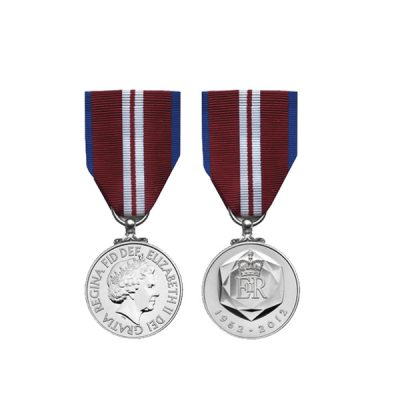 Queen's Diamond Jubilee Full Size Medal