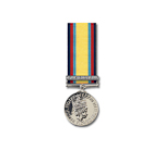 Gulf Medal 1991 with clasp (Op Granby) – Miniature Medal