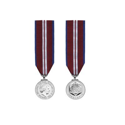 Queen's Diamond Jubilee  – Miniature Medal