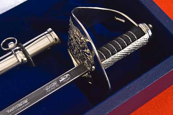 Miniature Sword & Scabbard Boxed