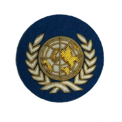 UN – Embroidered Beret Badge