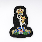Royal Signals – Embroidered Beret Badge
