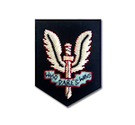 SAS – Embroidered Beret Badge