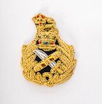 General Staff Officer – Embroidered Beret Badge