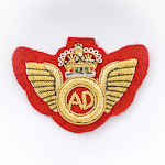 Air Despatch Badge (Embroidered) for Mess Dress