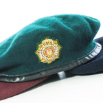 Beret Officers with Embroidered Badge